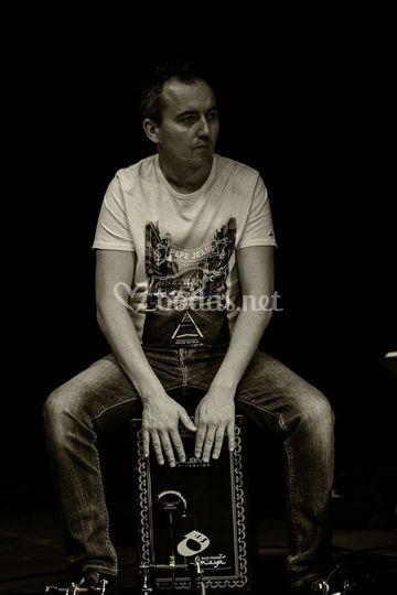Jorge percusión