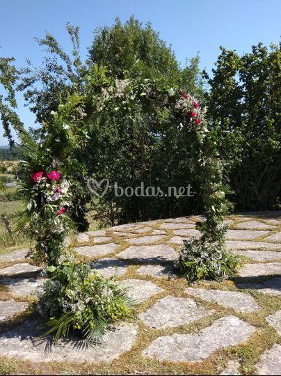 Arco flor natural