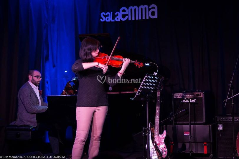Violín y piano