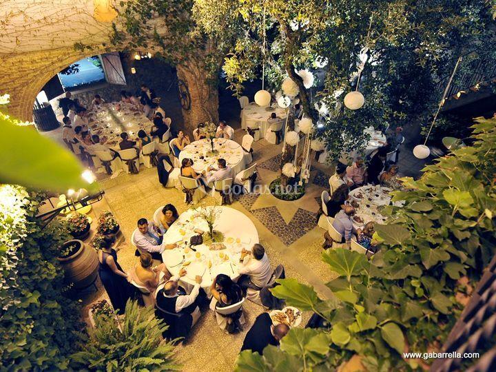 Vistas del banquete