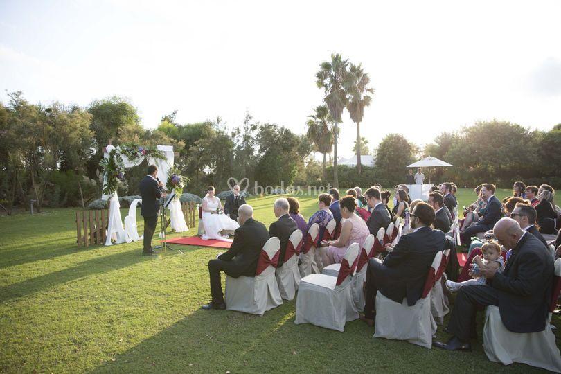 Ceremoni panorámica
