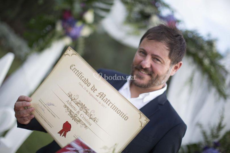 Xavier Castells - Maestro de ceremonias