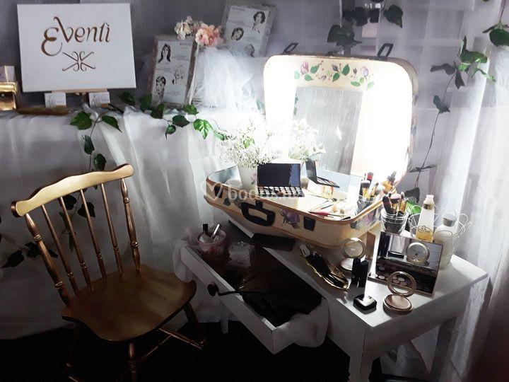 Beauty corner de noche