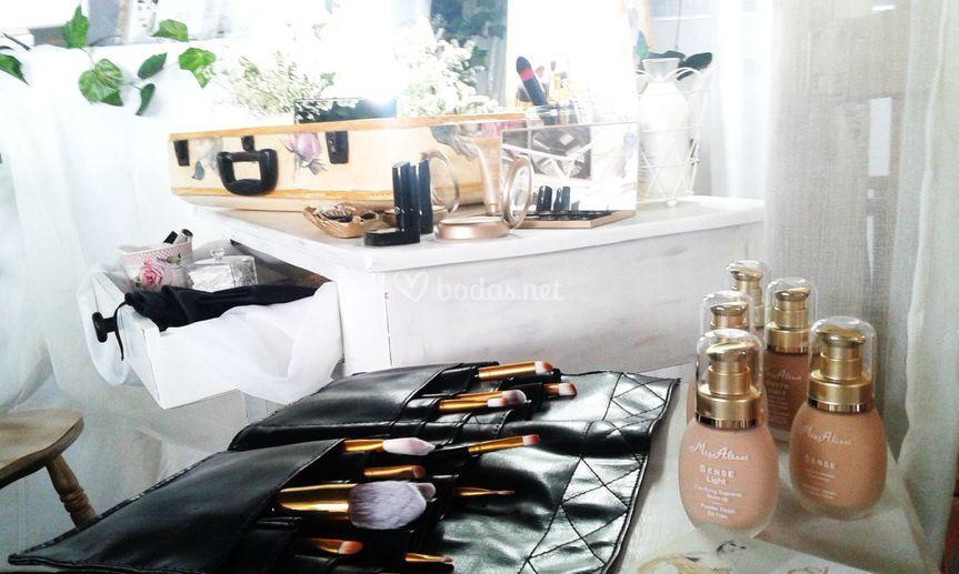 Alta cosmética y profesionales