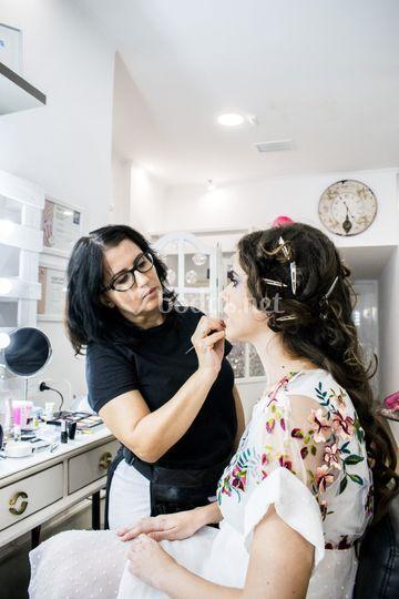 Prueba maquillaje novia Mónica