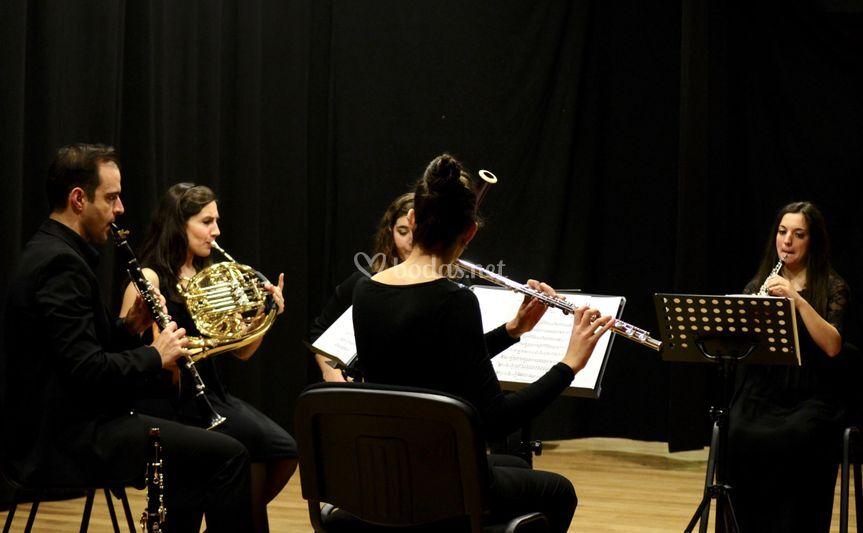 Quinteto de viento