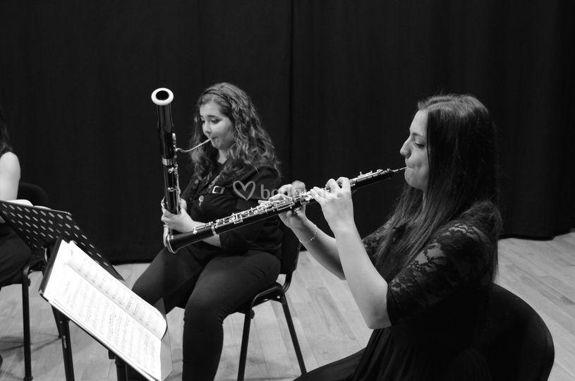 Oboe y fagot