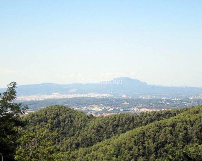 Vistas panorámicas del Valles