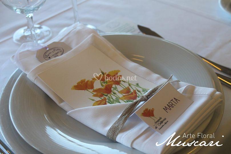 Montajes para banquete
