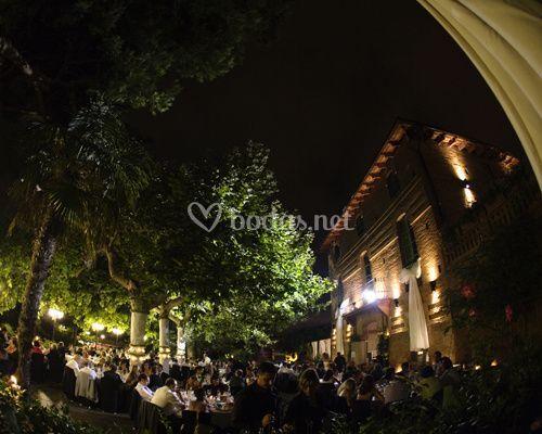 Banquete terraza mas folch