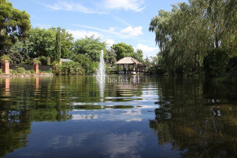 Lago jardines
