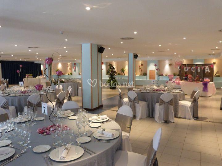 La fiesta, banquete de Hotel Sol Costa Daurada