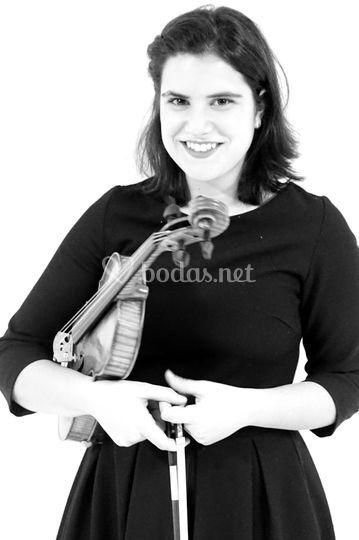 Violinista del grupo