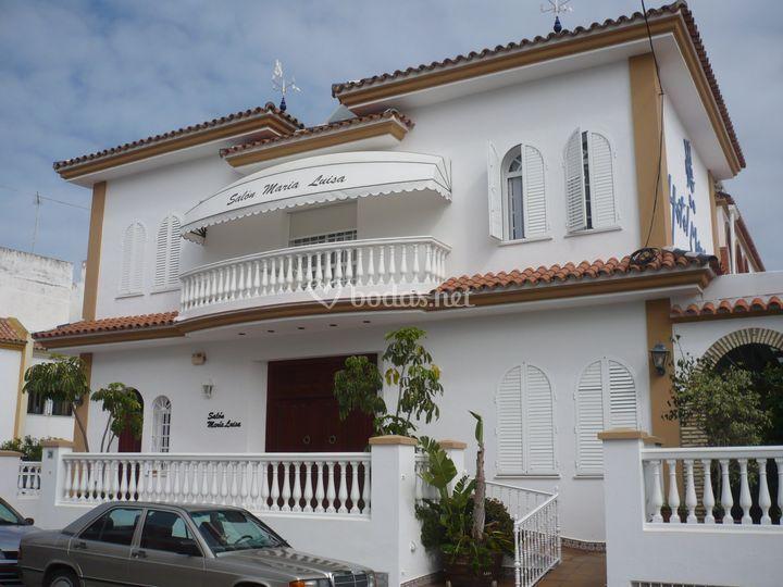 Vista exterior Salón María Luisa