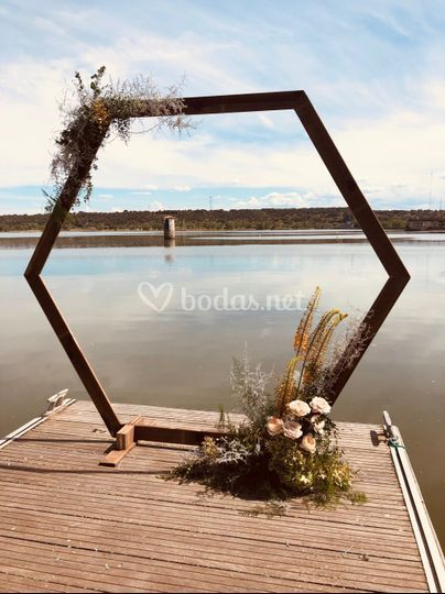 Arcos para bodas civiles