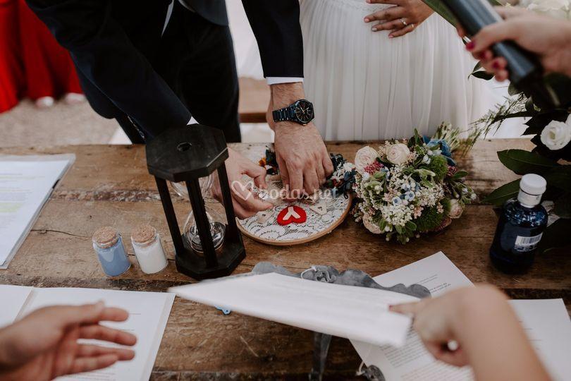 Porta anillos personalizados