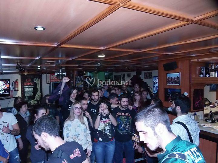 Actuación en pubs