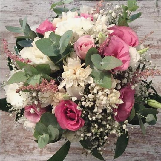 Bouquet de novia primavera