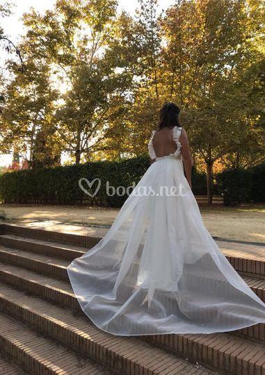 Vestido de novia, único