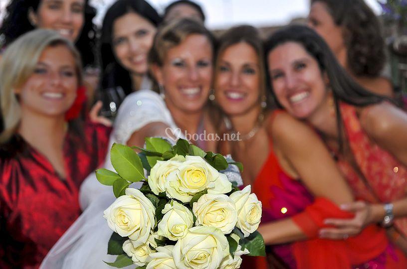 Cristina y amigas