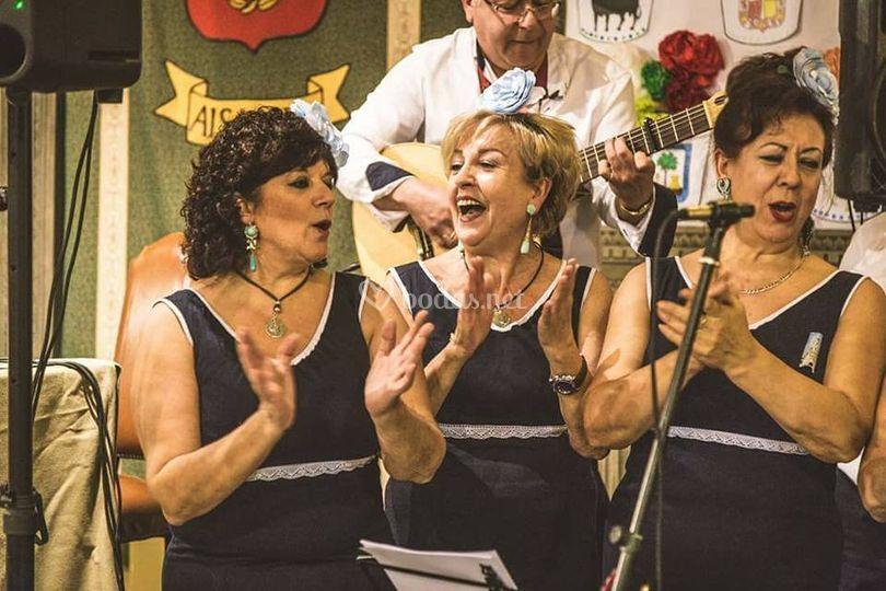 Actuación del coro
