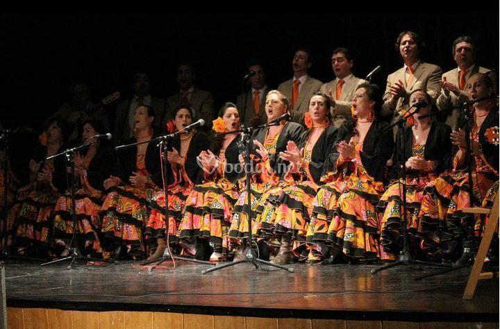 Coro flamenco