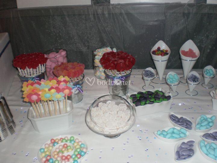 Chuches y dulces para tu celebración