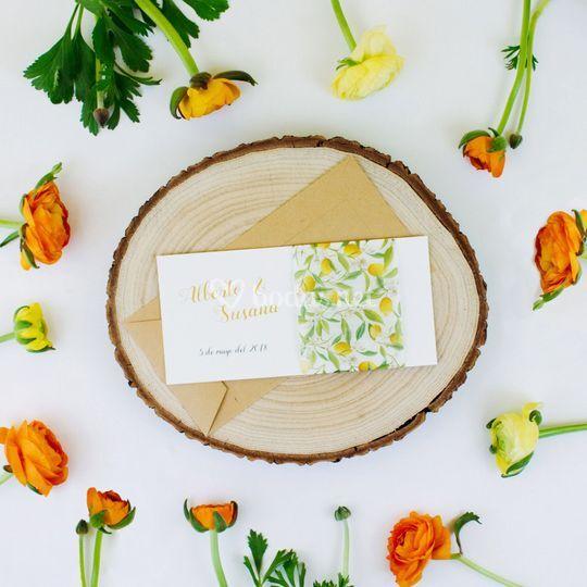 Invitación frutal