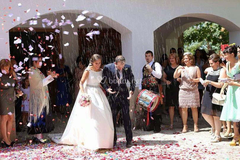 """Suena """"ya se han casado"""""""