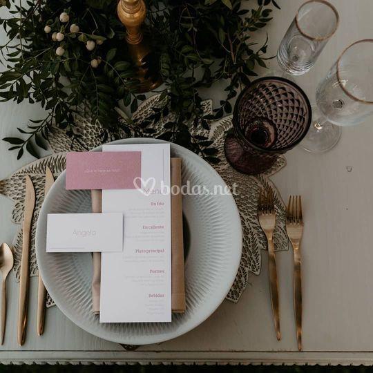 Papelería de boda