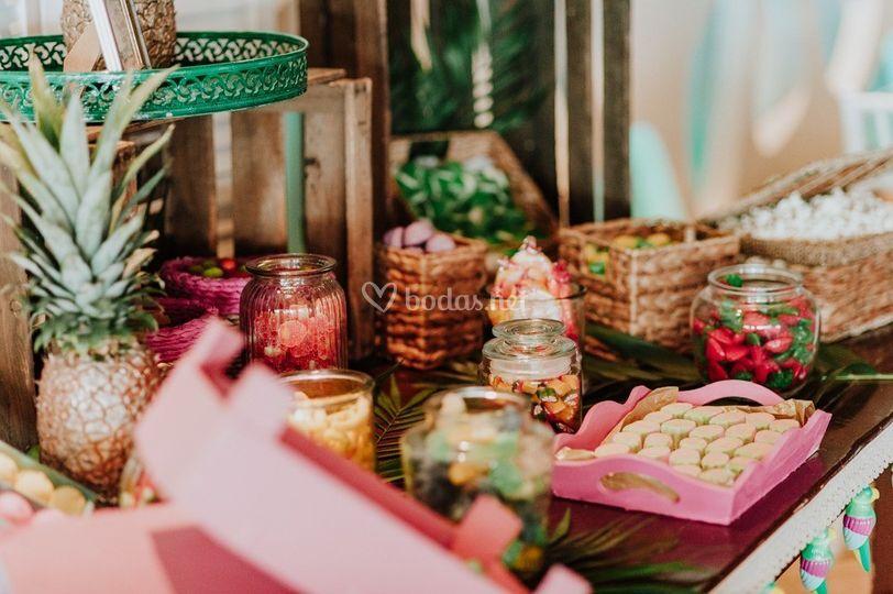 Candy bar tropical