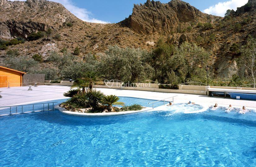 Balneario de archena for Piscinas termales