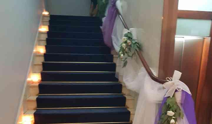 Escaleras entgrada