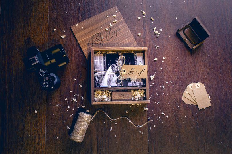 Caja fotógrafo