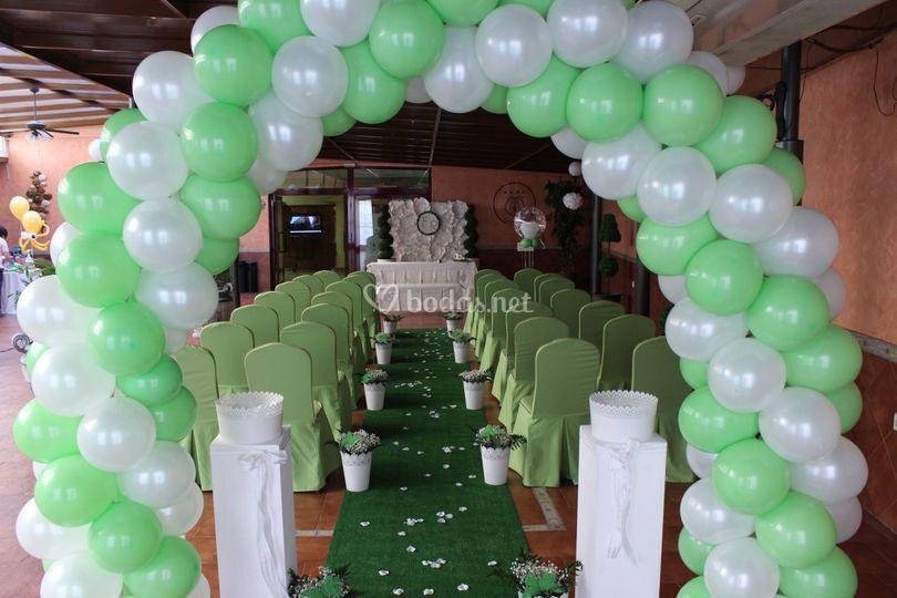 Detalle ceremonia civil