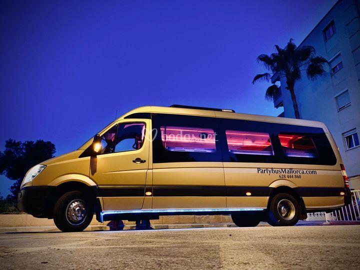 Party bus Mallorca