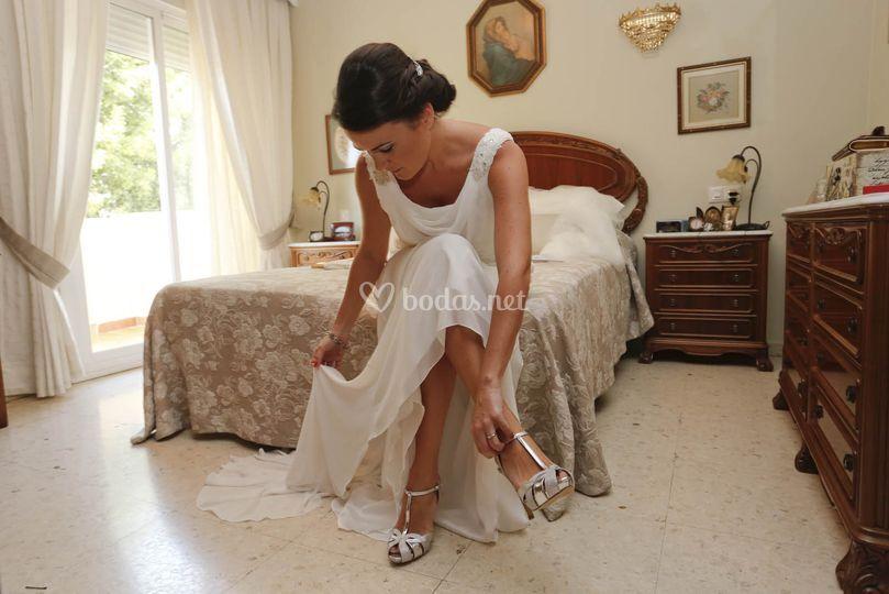 Previa casa de la novia