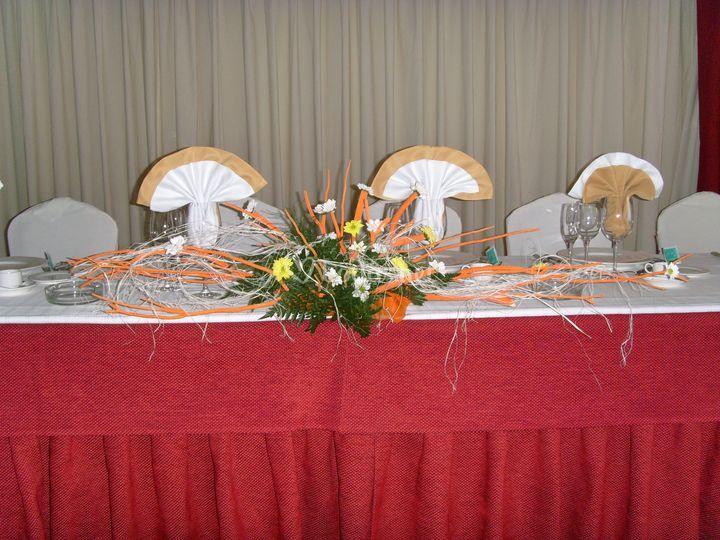 Centro para mesa presidencial