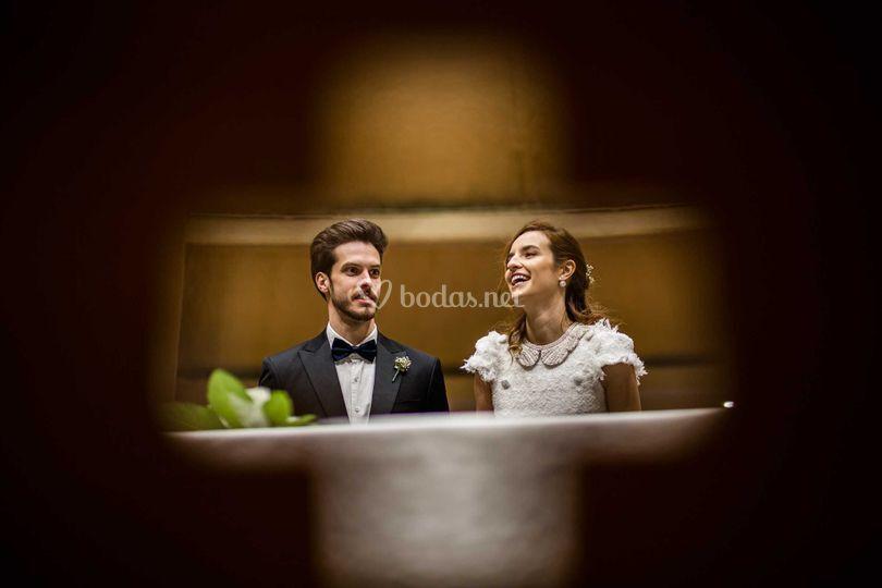 Casados por la iglesia