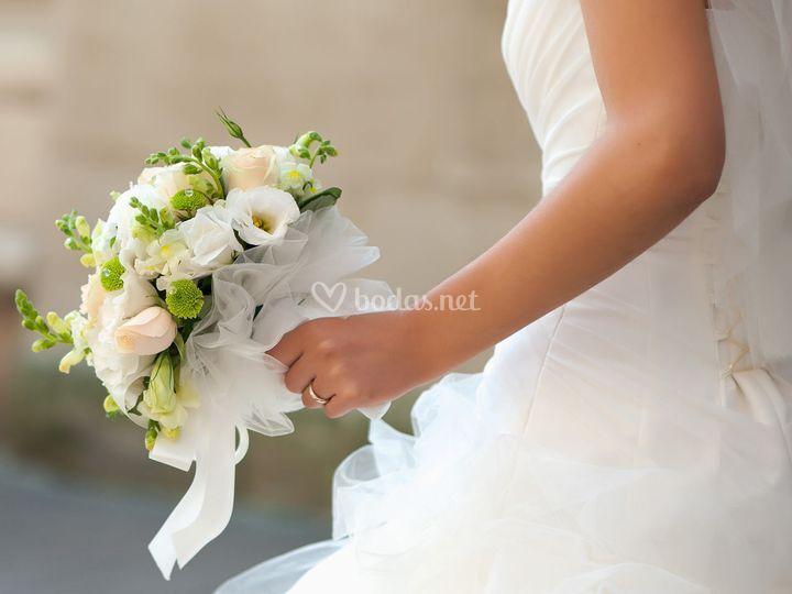 Elección del ramo de novia