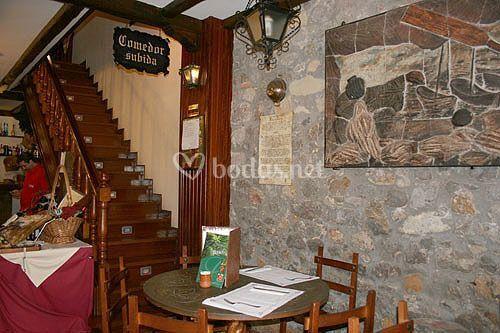 Interior 2 comedores, 1 de 60 comensales