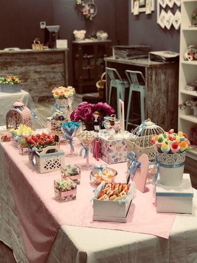Luna y Miel candy bar