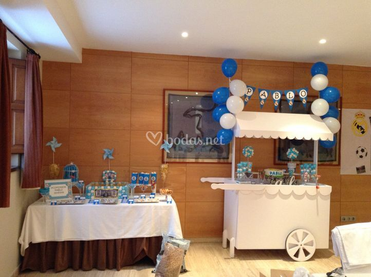 Candy bar con carro