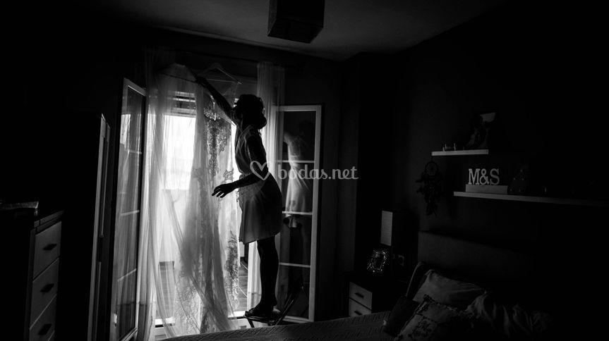 Descuelga el vestido