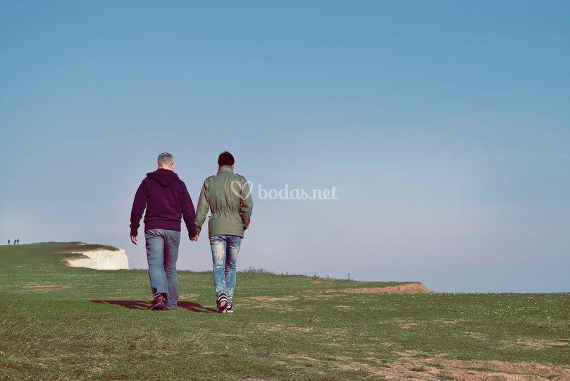 Camina con él para siempre