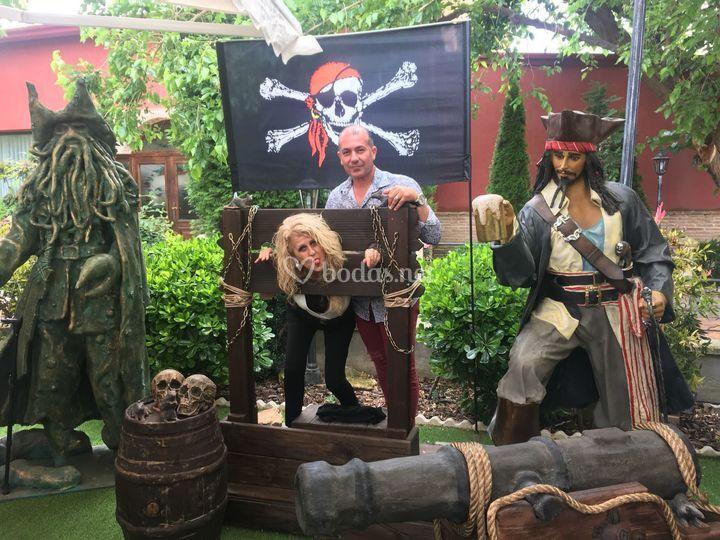 Fotocall con los piratas