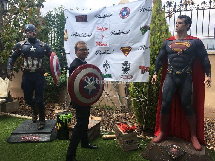 Tematica super heroes