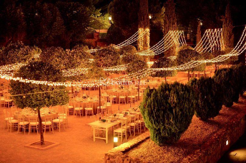 Iluminación boda N&V