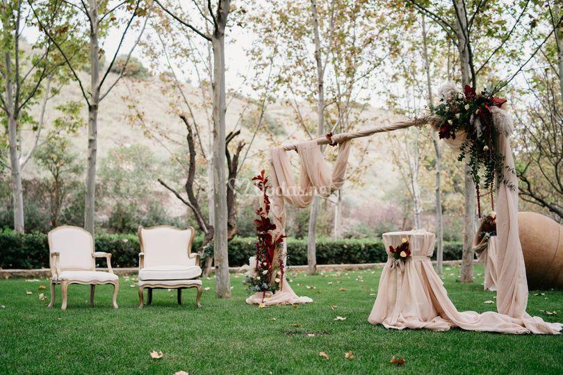 Altar jardín