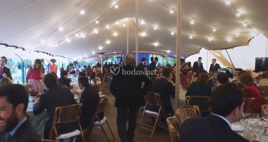 Banquetes en exteriores